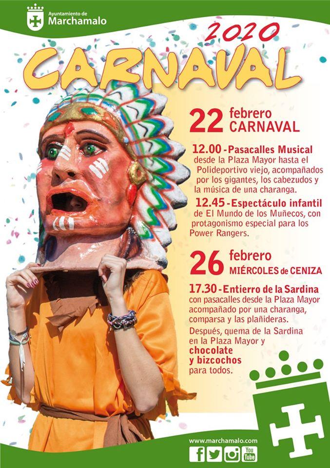 PROGRAMA CARNAVAL MARCHAMALO 2020