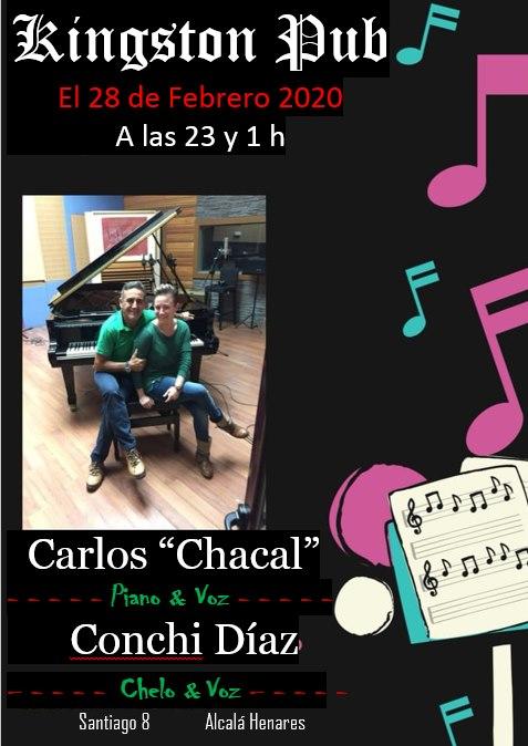 Carlos «Chacal» – Piano & Voz./Conchi Díaz –Chelo & Voz