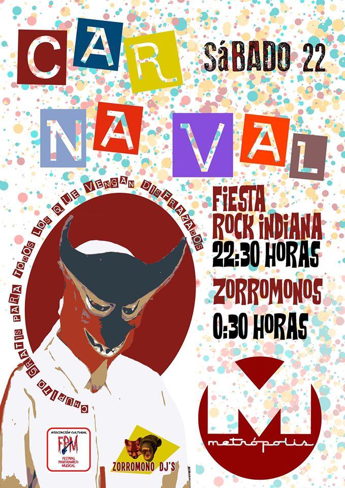 Carnaval Metrópolis !