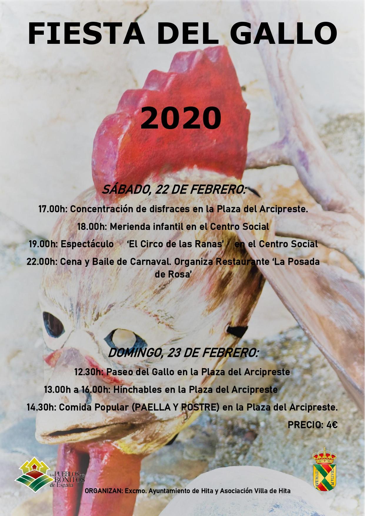 FIESTA DEL GALLO 2020 HITA