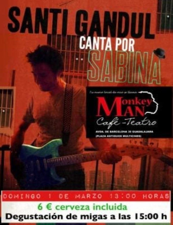 Concierto Santi Gandul