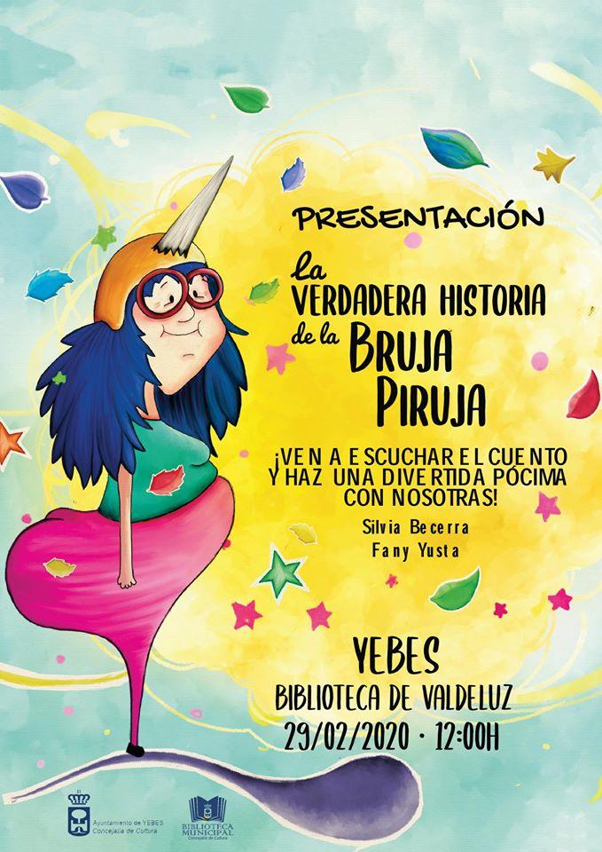 Presentación/Taller La verdadera historia de la Bruja Piruja