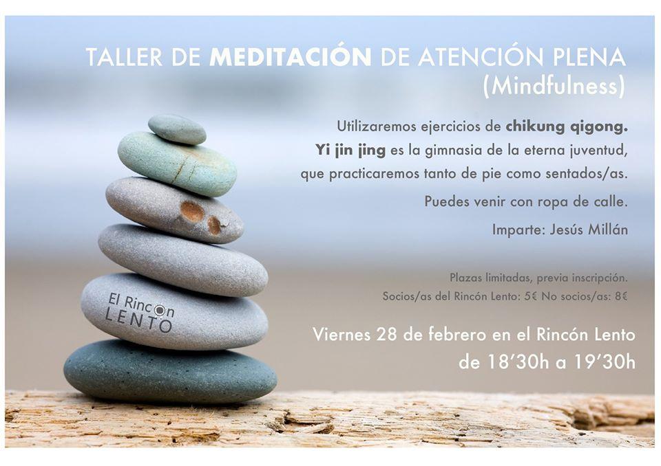 Taller de meditación mindfulness