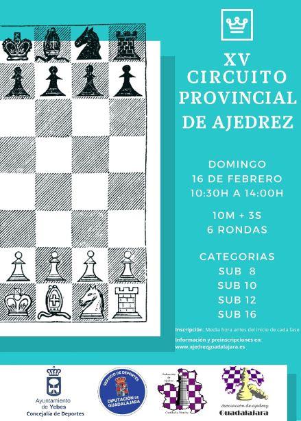 XV Circuito Provincial de Ajedrez en Valdeluz