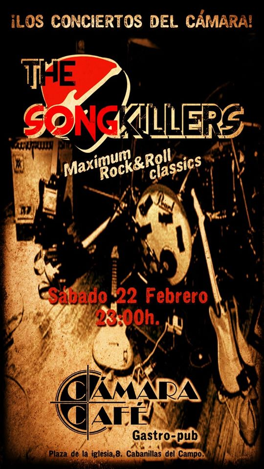 THE SONGKILLES EN CÁMARACAFÉ