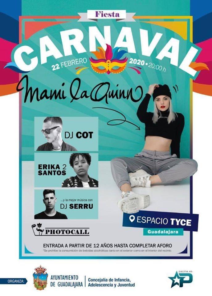 Carnaval Guadalajara 2020 ESPACIO TYCE con Mami LaQuinn