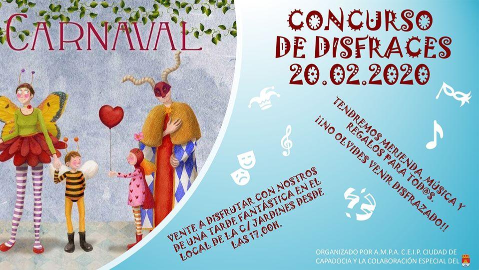CONCURSO DE DISFRACES CARNAVAL TRILLO 2020