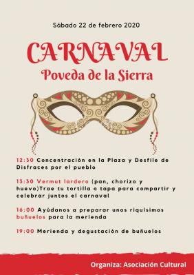 CARNAVAL POVEDA DE LA SIERRA 2020