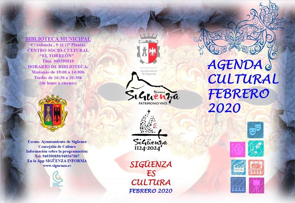 Agenda cultural Sigüenza febrero 2020