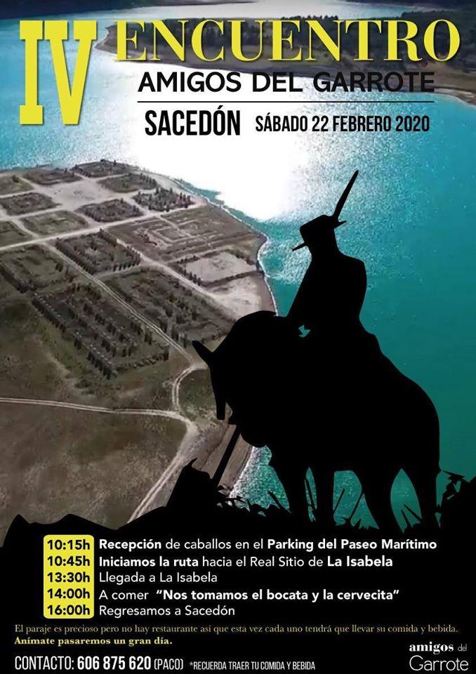 IV ENCUENTRO AMIGOS DEL GARROTE SACEDON 2020