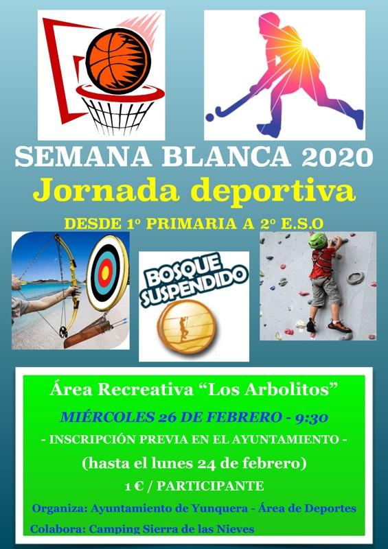 SEMANA BLANCA 2020 DEPORTIVA Yunquera de Henares