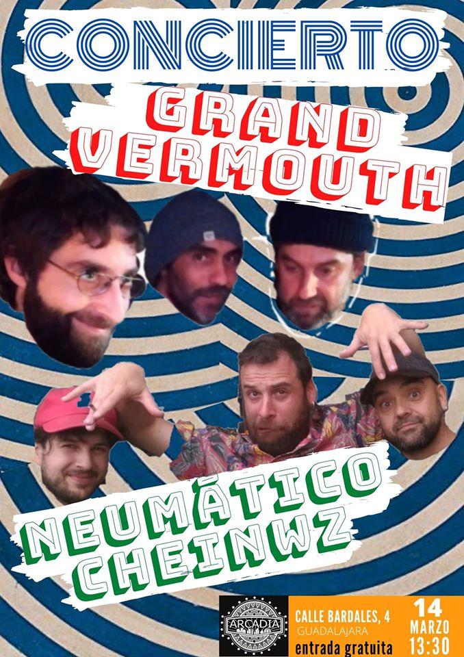 NeumáticoCheinwz-GrandVermouth En Marzo,la pepita y el garbanzo.